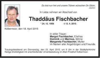 Zur Gedenkseite von Thaddäus
