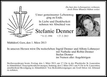 Profilbild von Stefanie Denner