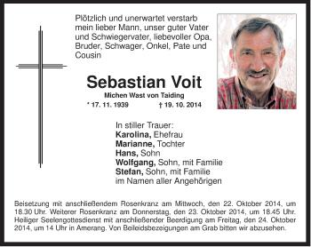 Zur Gedenkseite von Sebastian