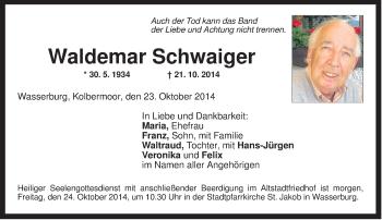 Zur Gedenkseite von Waldemar