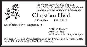 Zur Gedenkseite von Christian