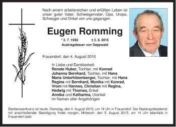Zur Gedenkseite von Eugen