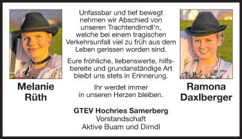 Profilbild von Melanie Rüth und Ramona Daxlberger