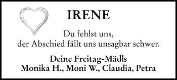 Profilbild von Irene Sedlmayr