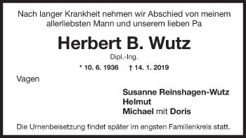 Herbert B.Wutz
