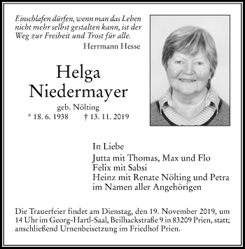 Helga Niedermayer