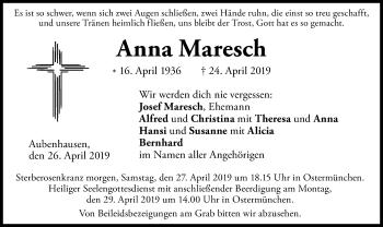 AnnaMaresch