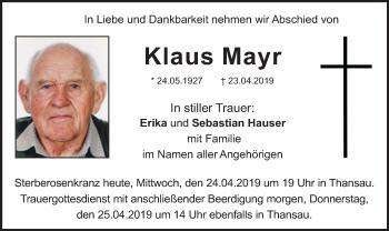 KlausMayr