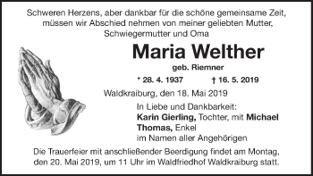 Maria Welther