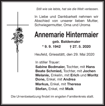 Annemarie Hintermaier